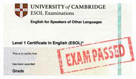 Certificates / Сертификати